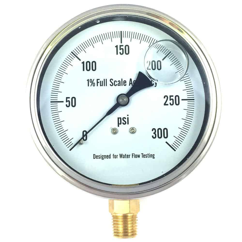 Liquid-Filled-Gauge-Three-Half-Inch-Water-Flow-Testing-Fire-2